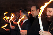 Lights Photo Originals - Lights Parade in Beit Jala by Munir Alawi