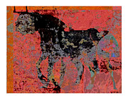 Toro Digital Art - Like a bull 2012 by Peter Szabo