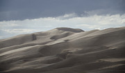 Great Sand Dunes Prints - Like a Lava Lamp Print by Wilma  Birdwell