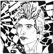 Bob Dylan Mixed Media - Like A Rolling Maze by Yonatan Frimer Maze Artist