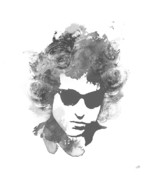 Bob Dylan Framed Prints - Like a Rolling Stone Framed Print by Laurence Adamson