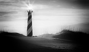 Cape Hatteras Lighthouse Posters - Like A Star Poster by Bernard Chen