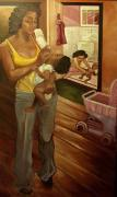 Like Mommy Print by Amira Najah Whitfield
