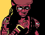 Weezy Art - Lil Wayne full color by Kamoni Khem