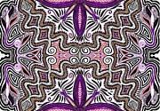 Lilac Garden3 Print by Samar Asamoah