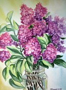 Inese Poga - Lilac on the Kitchen...