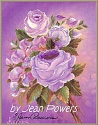Jordan Painting Originals - Lilac Rose by Jean Powers