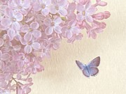 Lilac Digital Art Prints - Lilac Print by Sharon Lisa Clarke