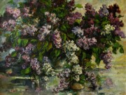 Dating Painting Originals - Lilacs by Tigran Ghulyan