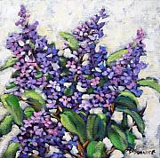 Richard Art - Lilas by Richard T Pranke