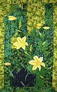 Lilies Tapestries - Textiles - Lilies In the Valley by Maureen Wartski