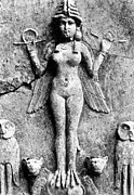 Babylonian Photos - LILITH, c1950 B.C by Granger
