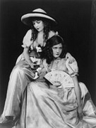Curls Photos - Lillian Gish 1893-1993 With Her Younger by Everett