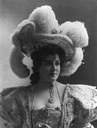 Theater Actress Photo Prints - Lillian Russell 1861-1922, American Print by Everett