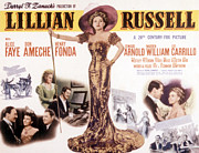 Period Clothing Posters - Lillian Russell, Alice Faye, 1940 Poster by Everett