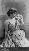 Langtry Framed Prints - Lillie Langtry 1853-1929, In As In The Framed Print by Everett