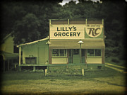 Old Store Photos - Lillys Grocery by Brian Mollenkopf