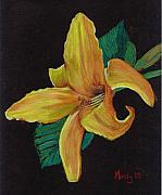Flower Pastels - Lily 1 by Mendy Pedersen