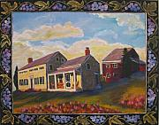Eagle Mills Paintings - Lily Hill by Art Nomad Sandra  Hansen
