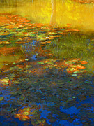 Lilypad Mixed Media - Lilypads At Pond  William Kaluta Artist by William Kaluta 