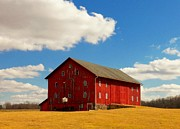 Rural Indiana Photo Prints - Limberlost Barn Print by Joyce  Kimble Smith