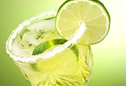 Lime Cocktail Drink Print by Blink Images