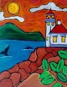 San Juan Paintings - Lime Kiln San Juan Island by Carla MacDiarmid