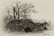 Lime Prints - Lime Kilns at Plymouth Meeting Print by Bill Cannon