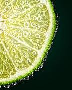 Garnish Photos - Lime Slice by Al  Mueller