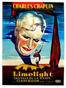 Limelight Framed Prints - Limelight Aka Limelight Les Feux De La Framed Print by Everett
