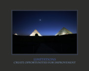 Limitations Create Opportunities For Improvement Print by Donna Corless