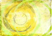 Abstract Expressionism Digital Art - Limoncello by Julie Niemela