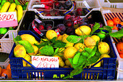 Sicily Digital Art - Limones by John Galbo