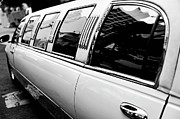 Excess Prints - Limousine car Print by Sami Sarkis