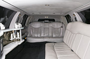 Limo Prints - Limousine Interior Print by Andersen Ross