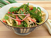 Hawaiian Food Photos - Limu Salad by James Temple