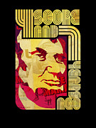 Period Digital Art Posters - Lincoln 4 Score on Black Poster by Jeff Steed