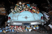 Junk Photos - Lincoln Continental and Spare Parts - 5D18410 by Wingsdomain Art and Photography