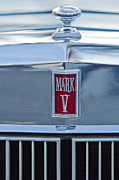 Lincoln Photos - Lincoln Continental Mark V Hood Emblem by Jill Reger