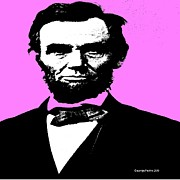 Black Tie Digital Art Posters - Lincoln Poster by George Pedro