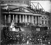 Inauguration Photos - Lincoln Inauguration, 1861 by Chicago Historical Society