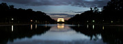 Colleen Joy Art - Lincoln Memorial at Twilight by Colleen Joy