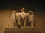 Abraham Acrylic Prints - Lincoln Memorial Acrylic Print by Brian McDunn