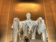 Lincoln Photos - Lincoln Memorial HDR by Frank Piercy