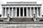 Greek Sculpture Prints - Lincoln Memorial Print by Olivier Le Queinec