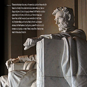 Emancipation Digital Art - Lincoln Memorial Washington  D.C. by Day Williams