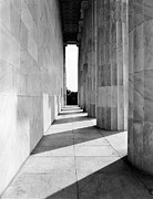 Lincoln Photo Originals - Lincolns Columns by Jan Faul