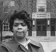 Civil Rights Movement Posters - Linda Brown Thompson Poster by Granger