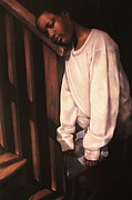 Artist Curtis James Pastels - Linda Brown You Are Not Alone II by Curtis James