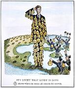 Lindbergh Cartoon Print by Granger
